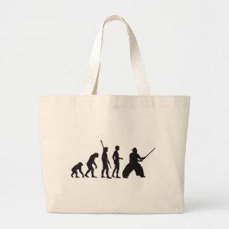 evolution samurai large tote bag