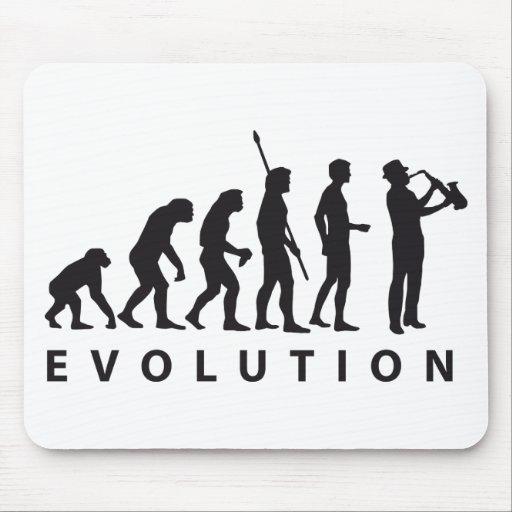 evolution saxophon mousepad