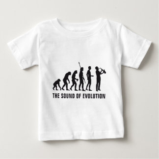 Evolution saxophone baby T-Shirt
