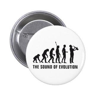Evolution saxophone 2 inch round button