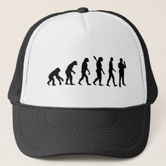 Evolution security guard trucker hat
