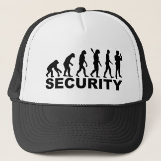 Evolution security trucker hat