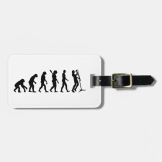 Evolution singer luggage tags