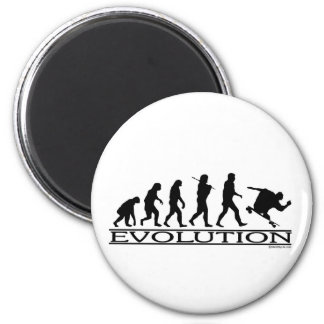 Evolution - Skateboarding - Male Magnet