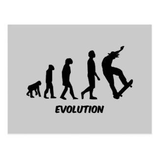 Evolution Skateboarding Postcard