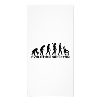Evolution Skeleton Card