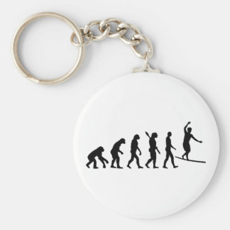 Evolution Slackline Keychain