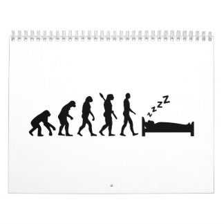 Evolution sleeping calendar