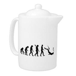 Evolution snorkeling teapot