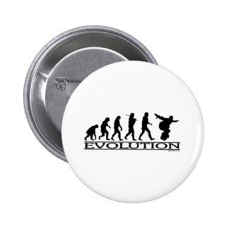 Evolution - Snowboarding 2 Inch Round Button