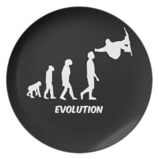 evolution snowboarding plate