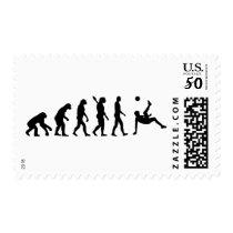 Evolution soccer bicycle kick postage