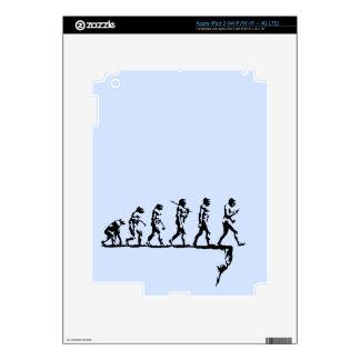Evolution Social Extinction Decals For iPad 3