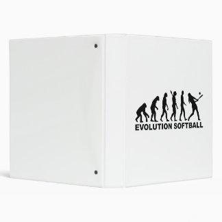 Evolution Softball Binder