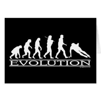 Evolution - Speed Skating Card