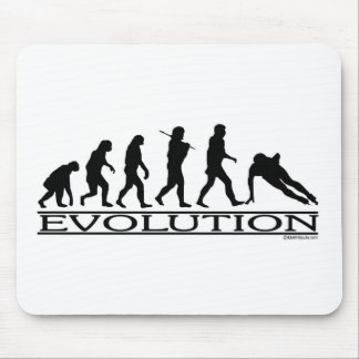 Evolution - Speed Skating Mouse Pad