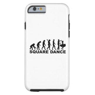 Evolution square dance tough iPhone 6 case