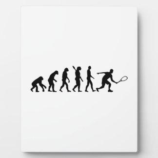 Evolution Squash Photo Plaque