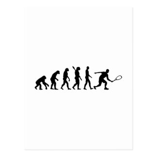 Evolution Squash Postcard
