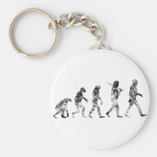 Evolution Standard - Clouds Keychain
