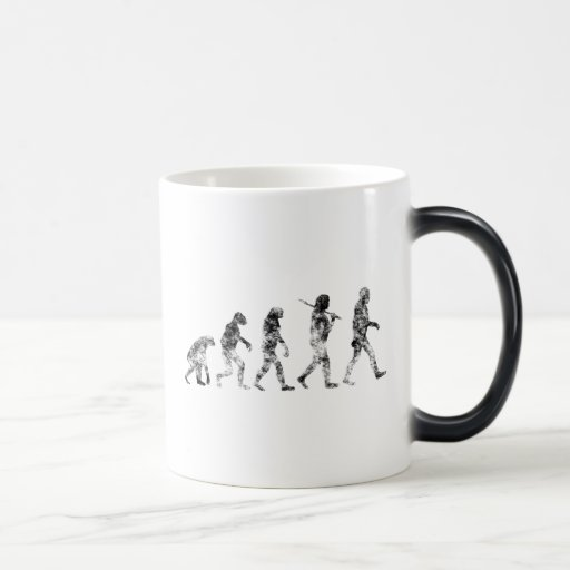 Evolution Standard - Clouds 11 Oz Magic Heat Color-Changing Coffee Mug