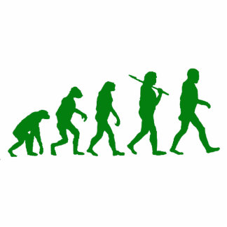 Evolution Standard - Green Acrylic Cut Out