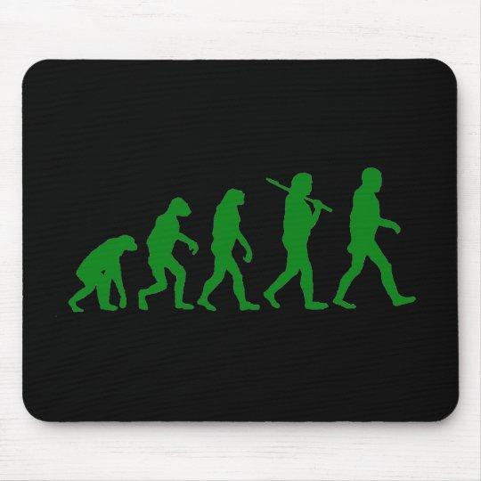 Evolution Standard - Green Mouse Pad