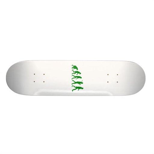 Evolution Standard - Green Skate Board Deck
