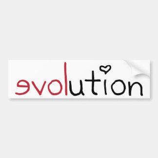 Evolution Sticker Bumper Stickers