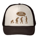 evolution - stop following me! mesh hats