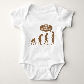 evolution - stop following me! t shirt