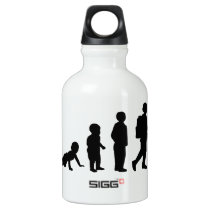 Evolution student school water bottle
