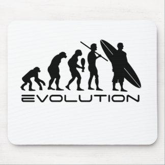 Evolution Surfer Mouse Pad