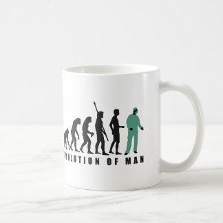 evolution surgeon coffee mug