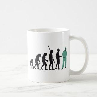 evolution surgeon taza básica blanca