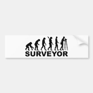 Evolution surveyor bumper sticker