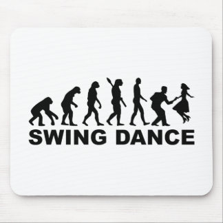 Evolution swing dance mouse pad