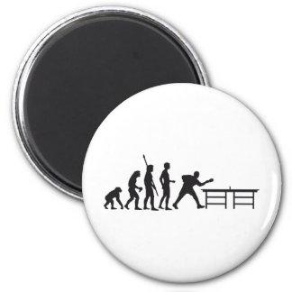 evolution table tennis 2 inch round magnet
