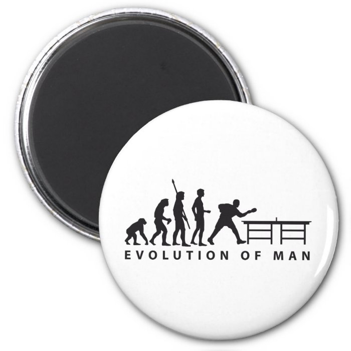 Evolution table tennis B 2 Inch Round Magnet