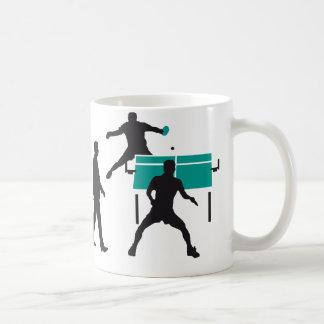 evolution table tennis more player classic white coffee mug