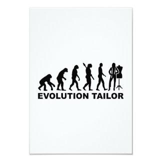 Evolution tailor card