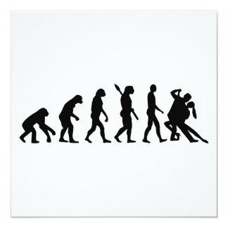 Evolution Tango dancing Card