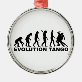 Evolution Tango Metal Ornament