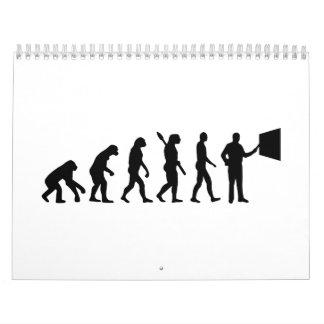 Evolution Teacher Calendar