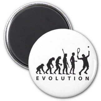 evolution tennis 2 inch round magnet
