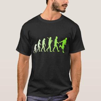 Evolution Tennis Humorous Tennis Tshirt
