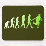 Evolution Tennis Humorous Tennis Tshirt Mousepads