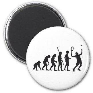 evolution tennis magnet