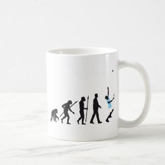 evolution tennis more player classic white coffee mug