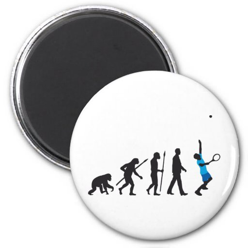 evolution tennis player imán redondo 5 cm